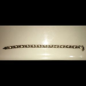Jewelry - 14K yellow gold XO bracelet